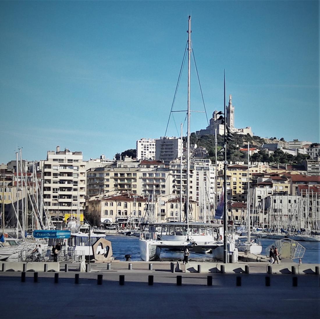 Marseille - Vieux Port et Notre-Dame-de-la-Garde