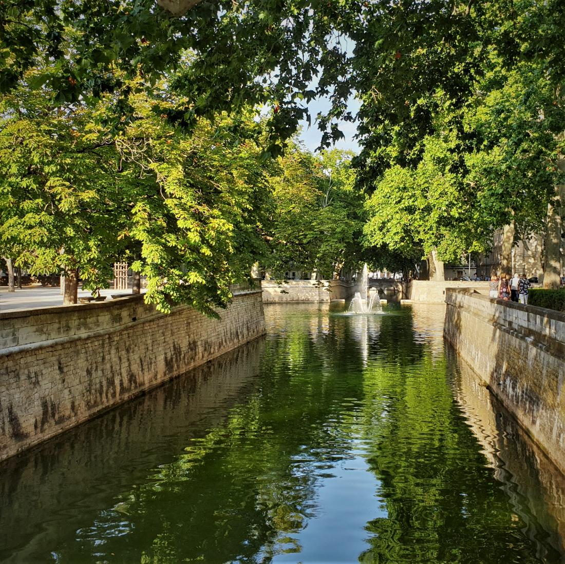 Nîmes les jardins de la Fontaine ©1MP2
