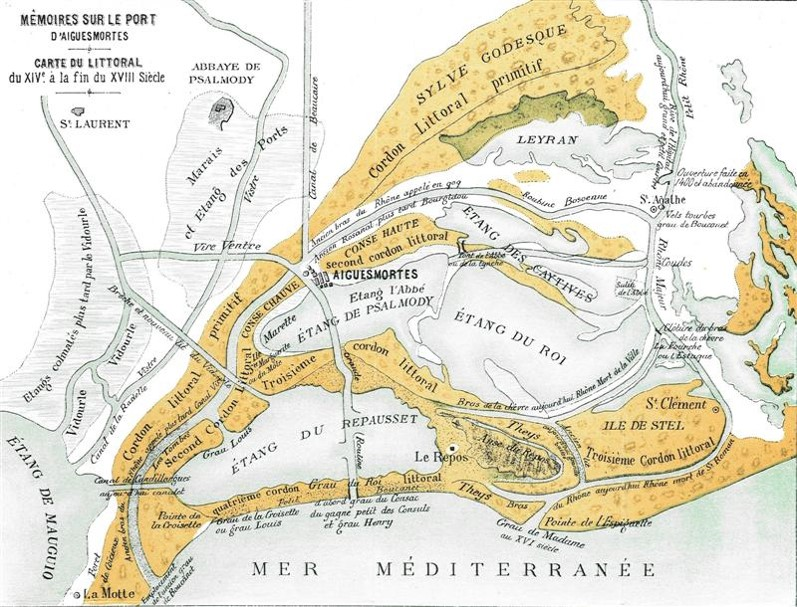 Carte littoral